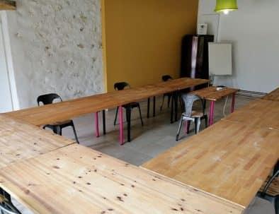 Location de salle de réunion dans un gite
